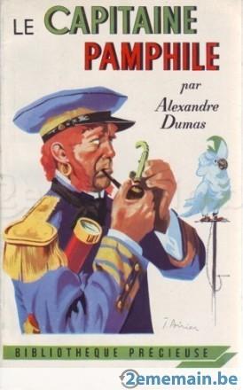 le capitaine pamphile, alexandre dumas, pipe, tabac, fumer