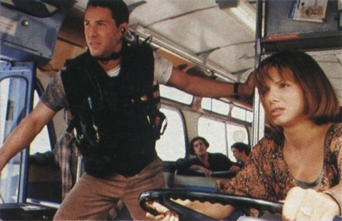 speed, keanu reeves, sandra bullock