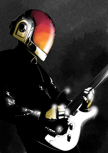daft punk,play,guitar,guitare,disque,disk