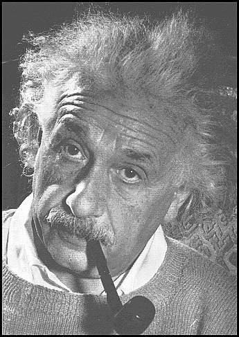 Einstein, tabac, pipe, fumer