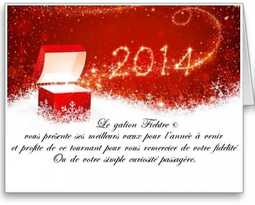 voeux, fichtre, 2014, new year, bonne année