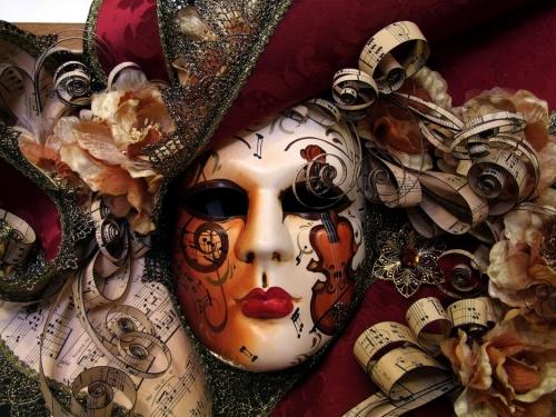masque, venitien