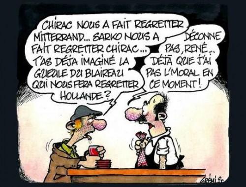 chirac, mitterrand, sarkozy, hollande, pompidou, de gaulle