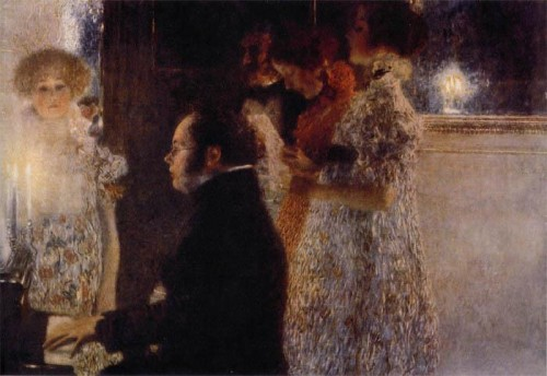 klimt, schubert, piano