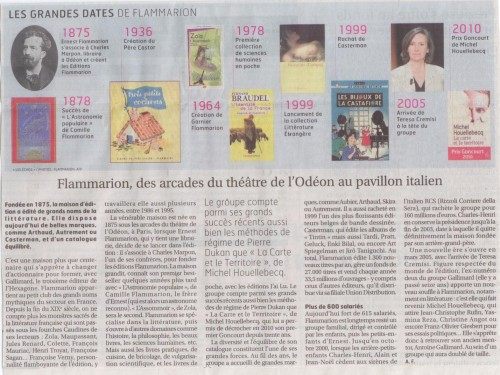 echos, monde, gaston, gallimard