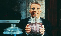 l'homme aux deux cerveaux, steve martin, kathleen turner