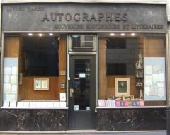 victor,hugo,librairie,autographe,rue napoléon